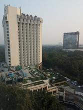 Utsikt från vårt rum.